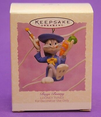 Hallmark Keepsake Ornament Easter 1995 BUGS BUNNY Looney Tunes Artist