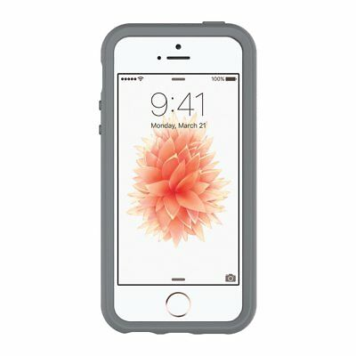 OtterBox SYMMETRY CLEAR SERIES Case for iPhone 5/5s/SE (CLEAR/GUNMETAL GREY)