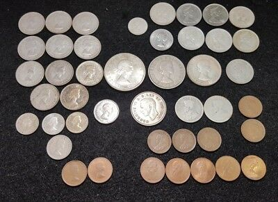 Canadian Coin Lot 44 total