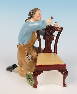 Vintage Royal Doulton THE CRAFTSMAN Figurine HN 2284 Furniture Maker Woodworker