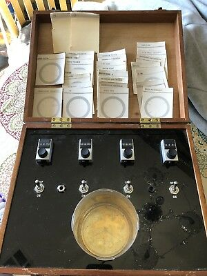 1975 Malcom Rae Simulator Radionics RARE! WITH CARDS! Made In England.