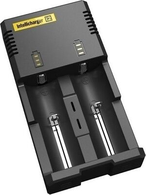 NITECORE i2 Intellicharger Battery Charger for 18650 RCR123 16340 14500