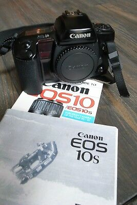 Canon Eos 10s,instruction book and Hove book Working Free Ship USA