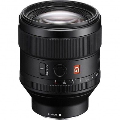 Sony 85mm f1.4 GM FE Objektiv SEL85F14GM 85/1.4 (A7/R/S/II/A9) TOP!