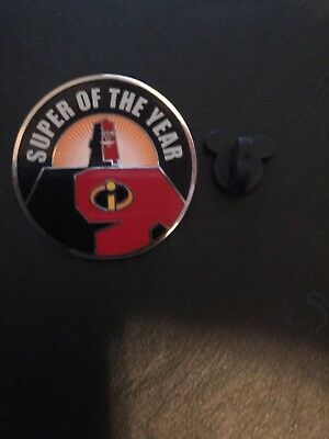 Disney Pin Trading Super Of The Year The Incredibles