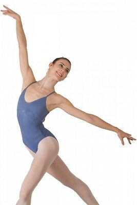 (Indigo, Large) - Ballet Rosa Linda Ladies Sleeveless Leotard. Huge Saving