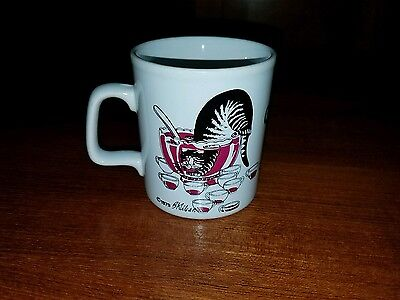 "B. KLIBAN CAT COFFEE CUP CERAMIC MUG MADE IN ENGLAND.  ""Cheers!"" Drinking wine"