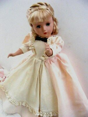 "Exc! All Original"" Little Woman"" Meg Doll Tagged Dress"