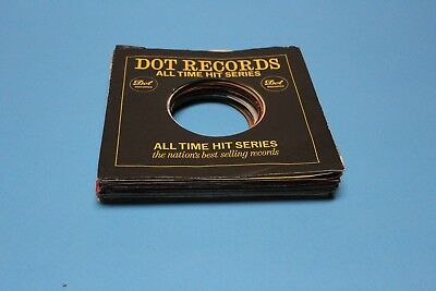 Lot Of 30) 45Rpm 7Inch Sleeves Only, Many Vintage, Many Labels, Free Ship !
