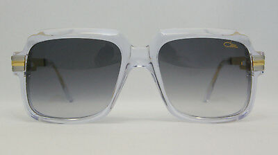 NEW Cazal Guaranteed Authentic 607/2 Sunglasses Crystal Gold Clear 616 671 672