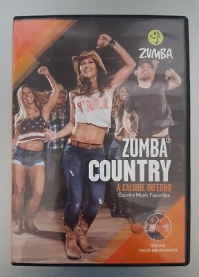 Zumba Country DVD Workouts Fitness Dance Steps Set Slimdown Exercise Music Video