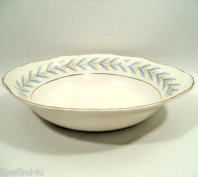 """APOLLO by W S George Radisson China Oval Serving Vegetable Bowl 9 1/2"""" Nice!"""