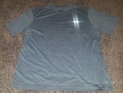 44ea8cd01ca Lot of 2 Men's Workout Shirts Size Large Gray Puma Dri Fit Wick Material