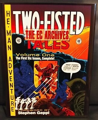 EC Archives Two Fisted Tales Volume One 1 War Comics Hard Cover 2007