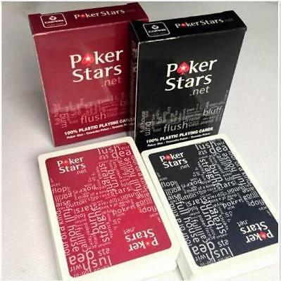 Plastic Poker Playing Cards Single Deck Texas Hold'em Collection Game D