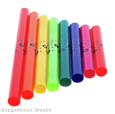 Boomwhackers C Major Diatonic - Set Of 8 - Great Fun For Everyone **brand New**