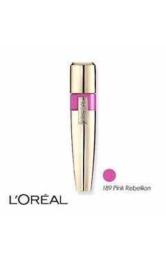 L'Oreal Paris NEW Colour Caresse Wet Shine Lip Stain - Pink Rebellion 189
