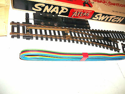 New Atlas HO scale Remote Control Snap Switch Turnout #51 Right Sealed in Box