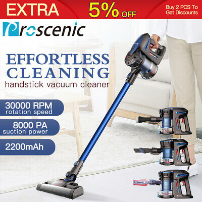 Proscenic P8 Handheld Vacuum Cleaner Cordless Rechargeable Thanksgiving Gift