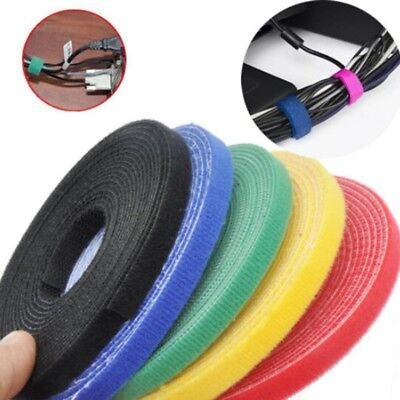 Reusable Back To Back Hook Nylon Straps Nylon Cable Ties Power Wire Loop