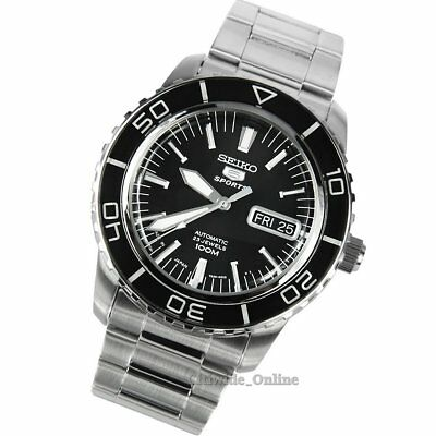 SEIKO 5 SNZH55J1 Sports Automatic Men's Watch Stainless Steel 41mm Japan Made
