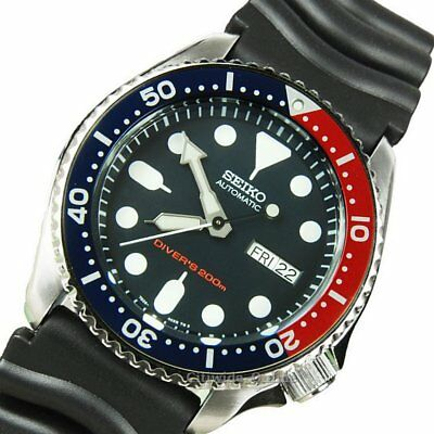 Seiko Automatic SEIKO DIVERS men's automatic watch SKX009K1 DIVERS RUBBER band