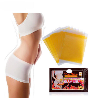 Sumiufn 50Pcs Slimming Navel Stick Slim Patch Weight Loss Fat Burning C054