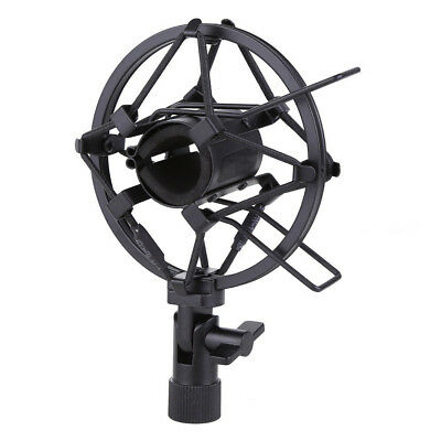 Microphone Shock Mount 25MM For 23MM-27MM Diameter Condenser Mic Black C2Z3