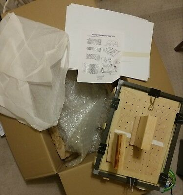"""Vacuum Forming Machine 12"""" X 18 with abs and clear forming sheets"""