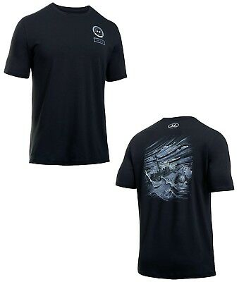 Under Armour Men's UA Freedom By Sea Loose Fit Short Sleeve Tactical T Shirt NWT