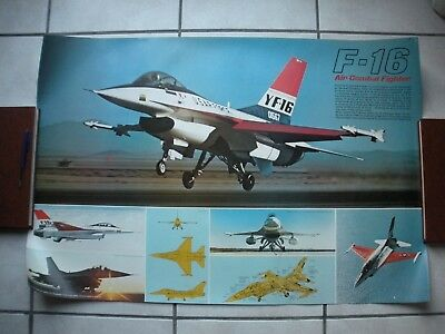 Poster F16 Air Combat Fighter