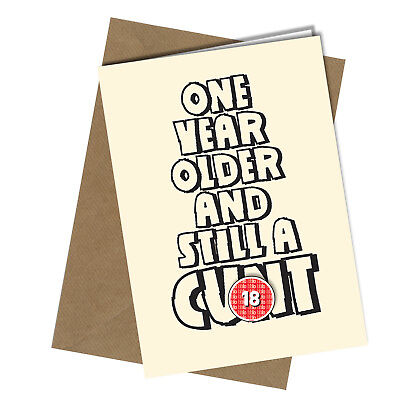 #575 LAUGHTER AND C*CK #CAKE Birthday Card Adult Funny Rude Joke Cheeky