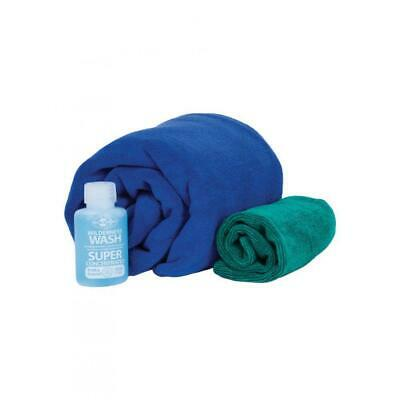 SEA TO SUMMIT - TEK Towel Wash Kit | Camping & Hiking 2x Towels + Soap