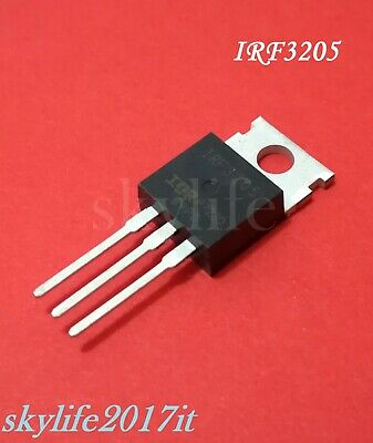 Mosfet IRF3205 N-channel N-FET 55V 110A 200W - 1 pezzo