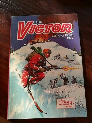 The Victor Book for Boys 1977, Published by D.C Thompson