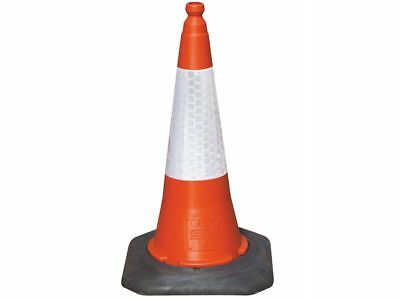 Traffic Cones - 4 Pack Of Our 75cm High UK Manufactured Road Legal Traffic Cones
