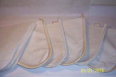 (5) Used 8Qt Maple Syrup Cone Filters & (7) New Pre-Filters