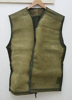 Military Issued British Leather Combat Vest-NEW