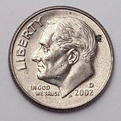 Dated : 2002 - USA - Roosevelt - One Dime - Coin - United States of America