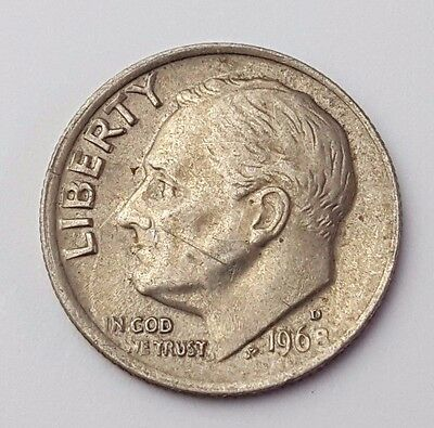 Dated : 1968 - USA - Roosevelt One Dime - Coin - United States of America