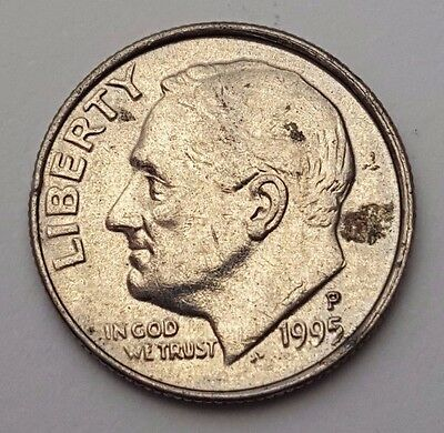 Dated : 1995 - USA - Roosevelt - One Dime - Coin - United States of America