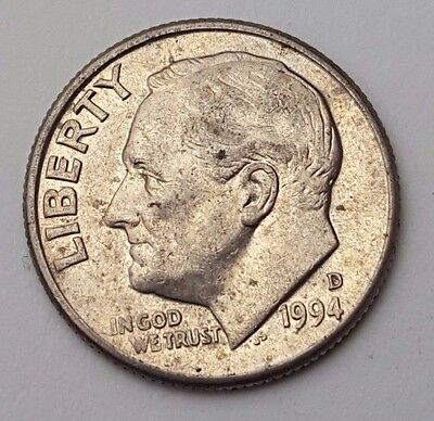 Dated : 1994 - USA - Roosevelt - One Dime - Coin - United States of America