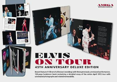 Elvis Presley - ON TOUR - 45th ANNIVERSARY DELUXE EDITION    ULTRA RARE