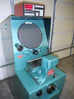 "Nice Refurbished Genx 14"" Optical Comparator with One Year Warranty!!"