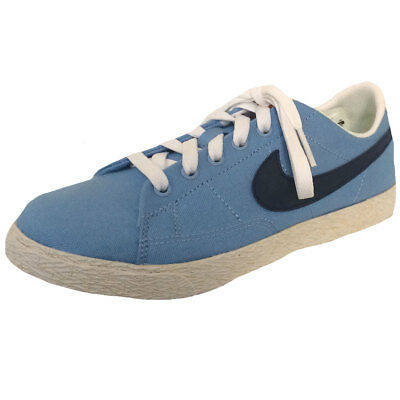 6233c32c6e Boys, Girls Nike Blazer Low Canvas Lace Up Trainers Sports Youth Shoes Size