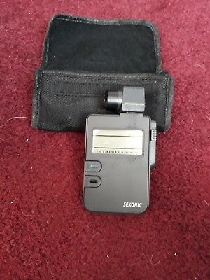 Sekonic DigiLite Light Meter, Model L-318/C-340.  Great condition, in case.