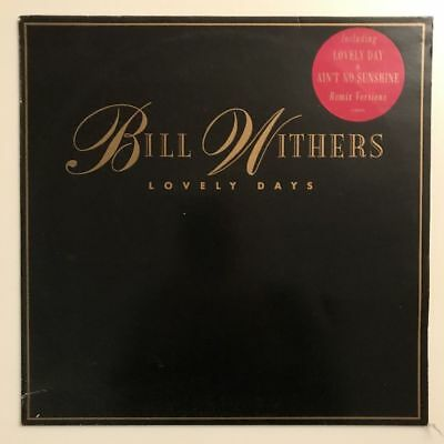 Bill Withers - Lovely Days - Vinyl LP 1989 - CBS 4632521