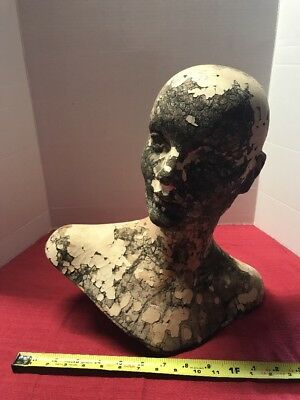 Art Deco Counter Mannequin Head Bust Vintage Advertising Stylized RARE LOOK