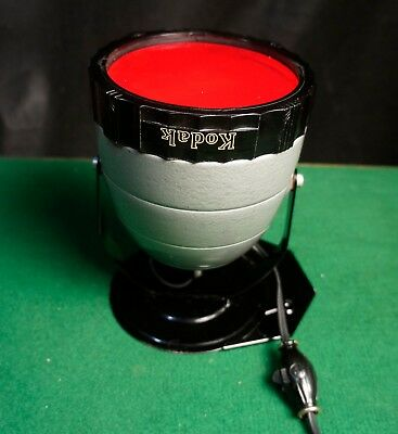 Vintage Kodak Adjustable Safelight Darkroom Lamp Complete Mint Condition
