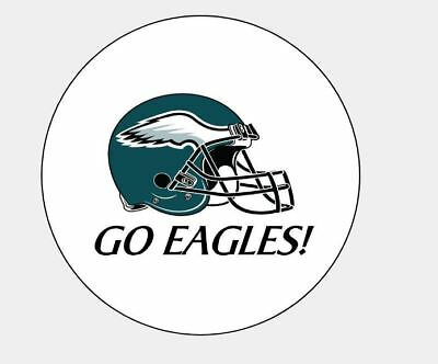 (216) Philadelphia Eagles Hershey Kiss Party Favors Stickers FREE shipping!